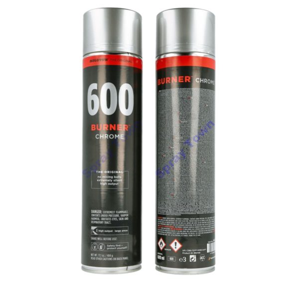 Molotow Burner 600ml - Chrome