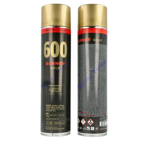 Molotow Burner 600ml - Gold