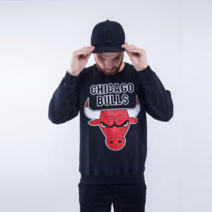 Свитшот Chicago Bulls Black spring