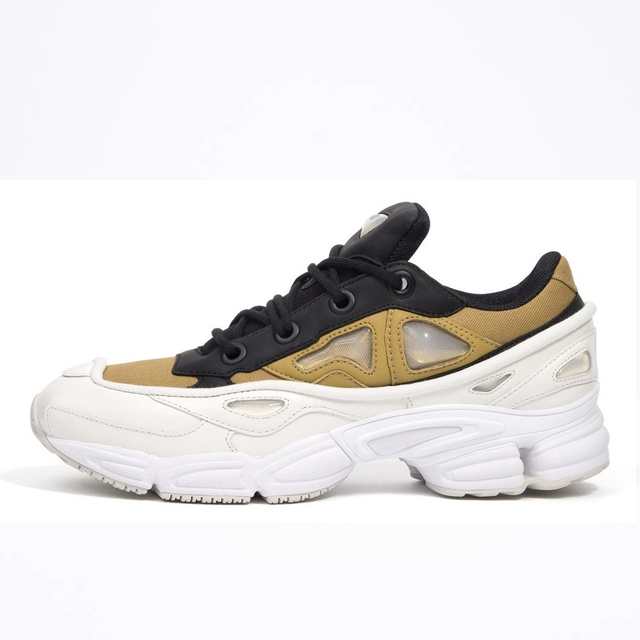 buy popular f99a1 e3eb3 Adidas x Raf Simons Ozweego 3 White Khaki Core Black