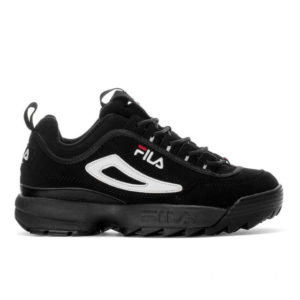 Кроссовки FILA Disruptor Black White Red
