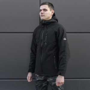 Ветровка Softshell black '18