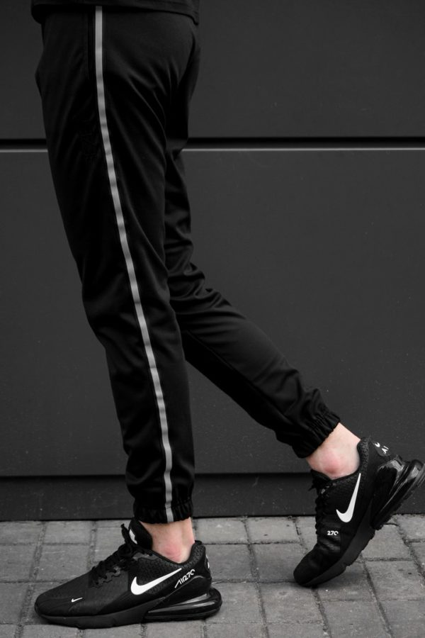 Спортивные штаны black with reflective