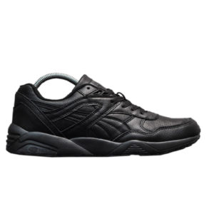 Puma Trinomic Triple Black Leather