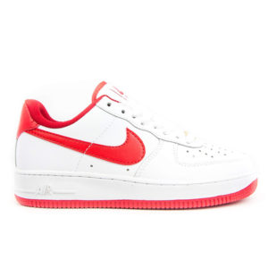 Кроссовки женские Nike Air Force 1 White Red Украина