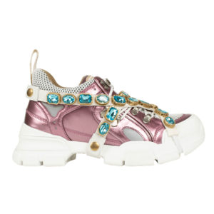 Gucci Flashtrek Pink White