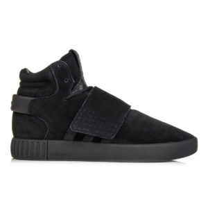 Кроссовки мужские Adidas Tubular Invader Suede Snap Full Black Украина