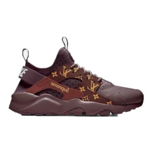 Кроссовки женские Nike Air Huarache Ultra x Supreme LV Brown