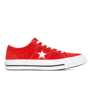 Кеды Женские Converse One Star Premium Suede Red