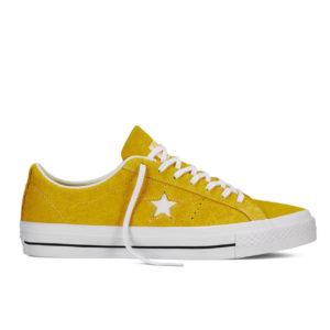 Кеды Женские Converse One Star Premium Suede Yellow