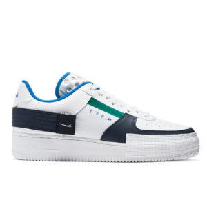 Кроссовки мужские Nike Air Force 1 Type White Obsidian