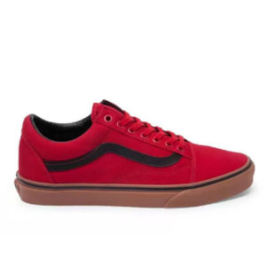 Кеды мужские Vans Old Skool Red Black