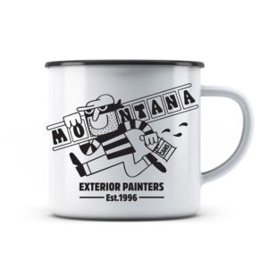 Montana Enamel Mug Design by 45RPM 300ml