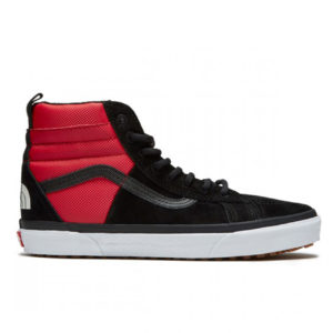 Кеды мужские Vans SK8 Red Black x The North Face