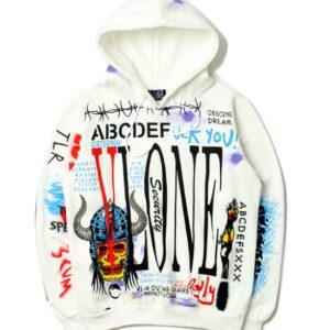 Худи Vlone ABC White